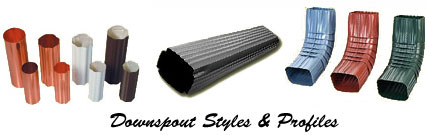 Downspout Styles